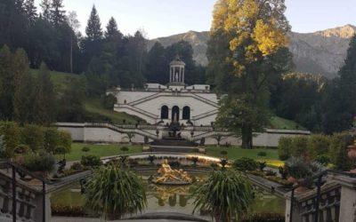 Restaurierung der Venusgrotte im Schlosspark Linderhof